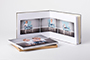 AsukaBook Art Layflat Photo Book White art paper inside pages and box top