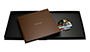 AsukaBook Book Bound LX Leather Photo Book Book Bound LX Book and box with DVD placeholder