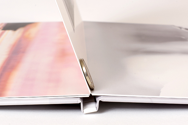AsukaBook Curve Layflat Photo Book Thick Board-Mounted Pages