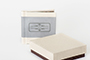 AsukaBook Heirloom Photo Album with light stone accent band and box