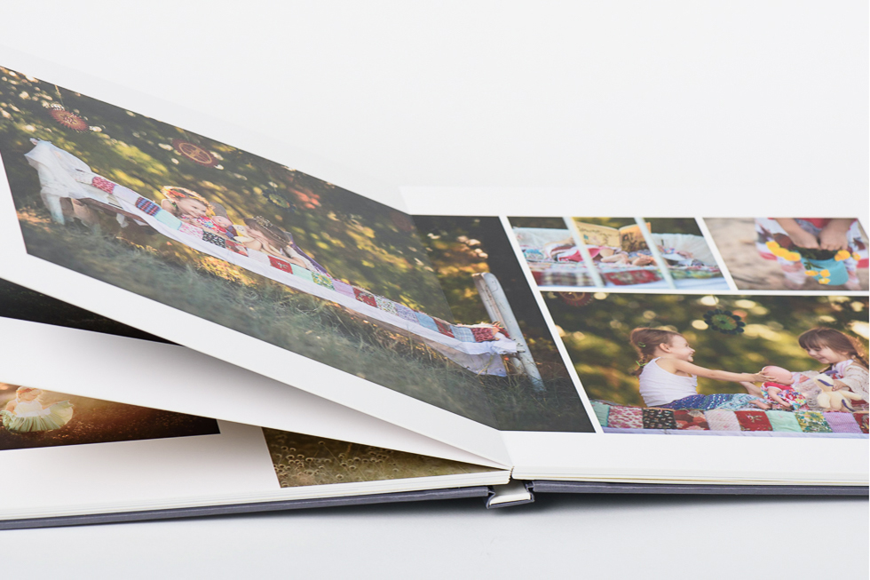 AsukaBook NeoClassic Book Flush Mount Photo Album Seamless binding