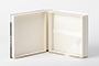 AsukaBook NeoClassic Book Flush Mount Photo Album Inside of the presentation box
