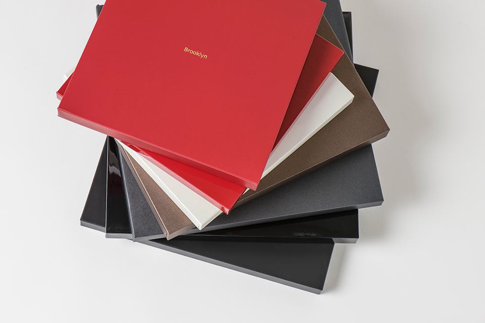 AsukaBook Zen Layflat EX Photo Book The five colour options for the case