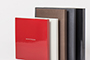 AsukaBook Zen Layflat EX Photo Book The case colour options for the Zen EX - red matte, red glossy, ivory pearl, chocolate pearl, black pearl, black glossy, and black matte