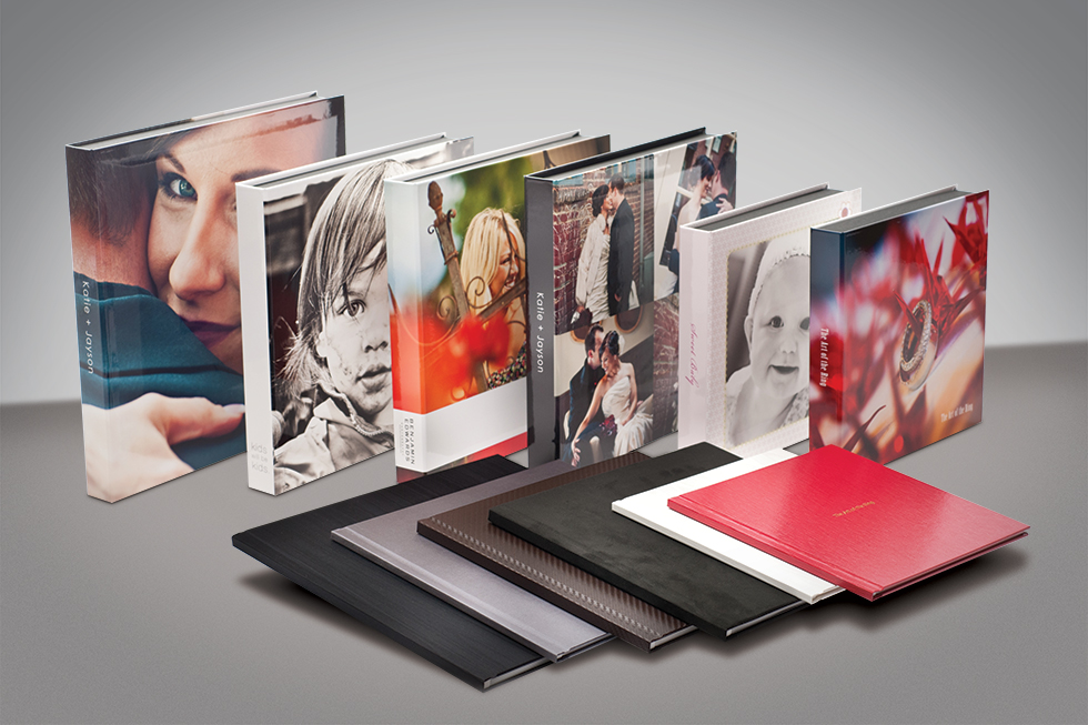 AsukaBook Zen Layflat Impact Photo Book cover options and designable boxes
