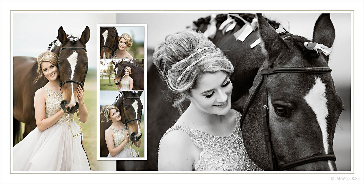 Studio Elle Wedding Photo Album Design Sample